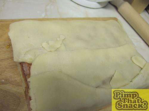 Folded cake