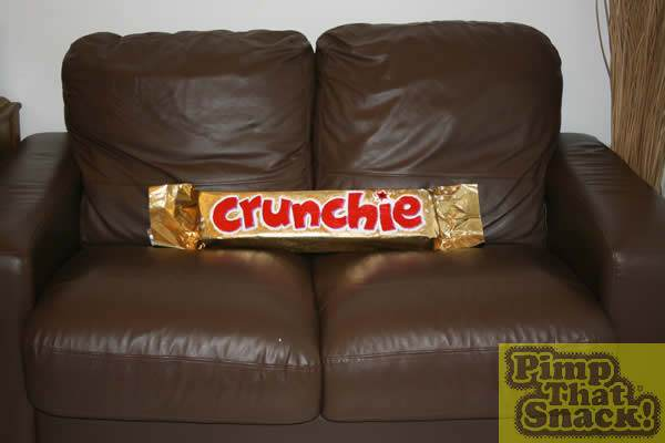 how to make a giant crunchie